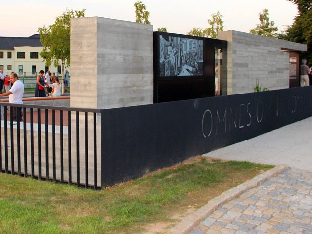 Památník jednoty bratrské a připomínka působení J.A. Komenského v ulici Na Marku v Přerově