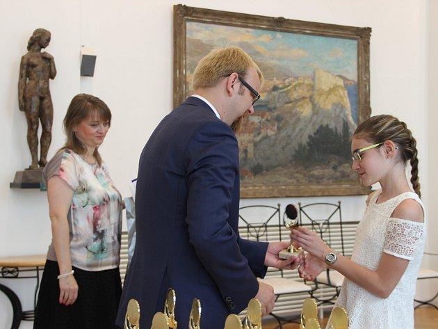 Slavnostní předávání sošky Scholar v Přerově