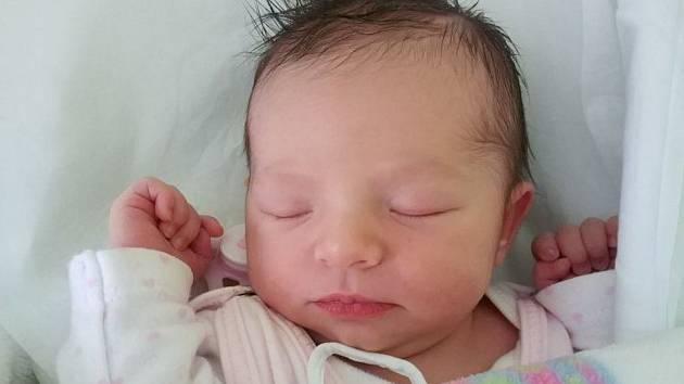 Elizabeth Lattonová, Přerov, narozena 12. ledna 2019 v Přerově, míra 49 cm, váha 3 470 g