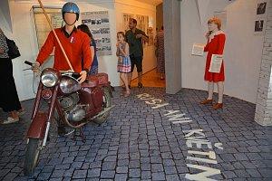 Druhá část výstavy Stoletá republika aneb Příběh jednoho města