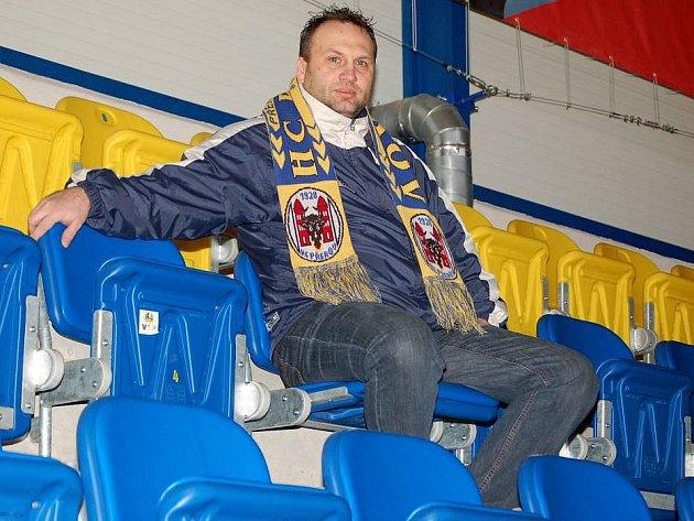 Sportovní manažer HC Zubr Pavel Sedlák