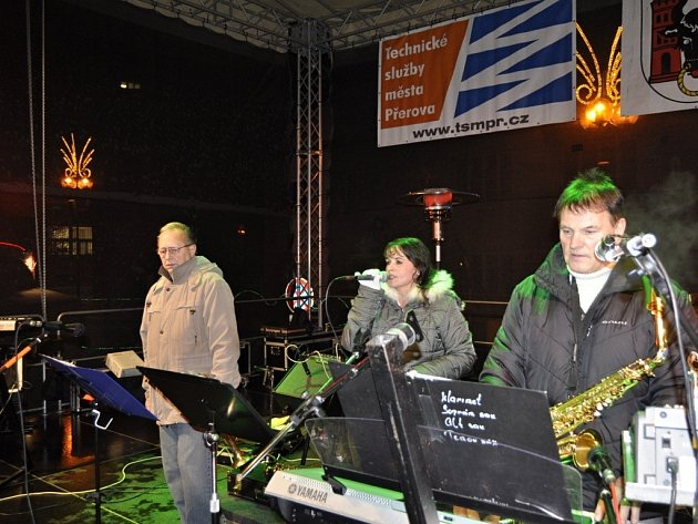Synkopa na vánočních trzích v Přerově
