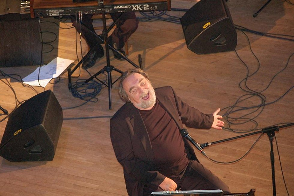 Koncert známého přerovského hudebníka a skladatele Jaroslava Wykrenta