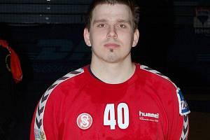 Brankář Jiří Bavlnka