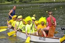 Festival dračích lodí na Laguně v Přerově