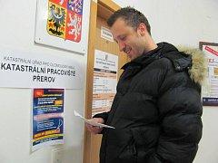 Katastrální úřad v Přerově. Ilustrační foto
