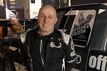 Miroslav Zapletal po dojetí šesté etapy Dakaru 2020.