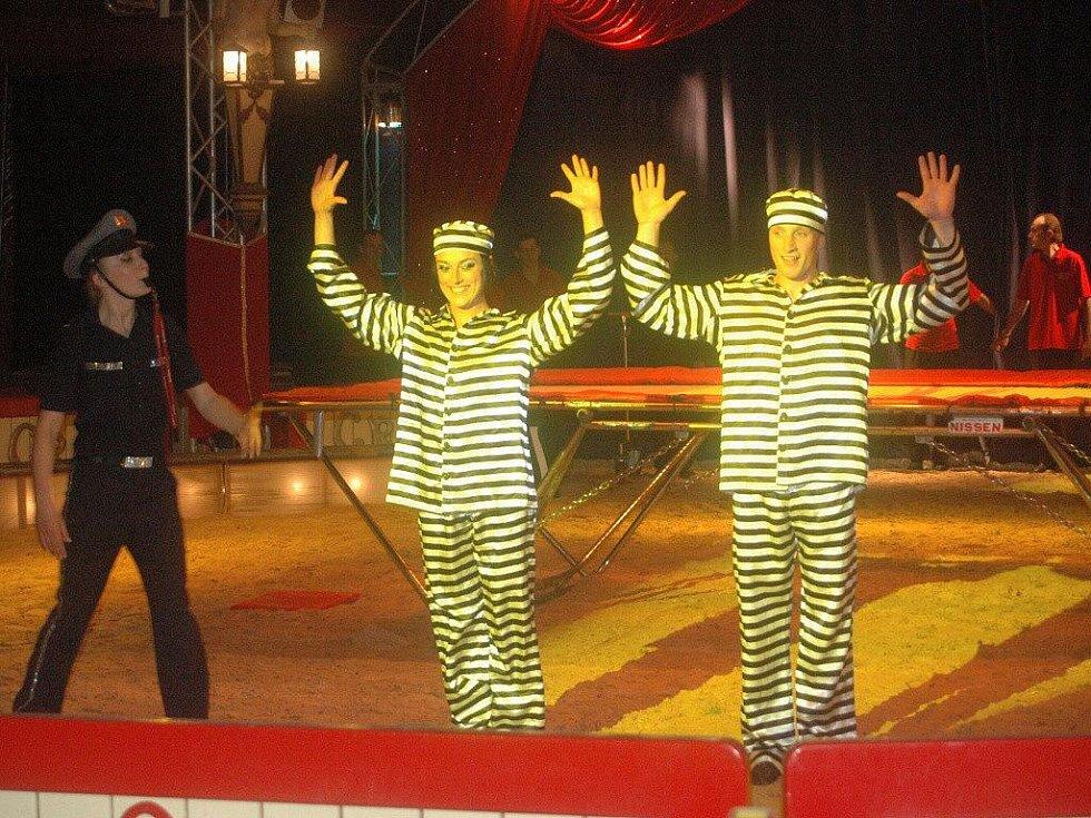Cirkus Berousek v Přerově