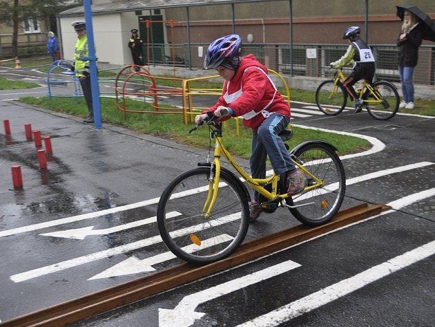 Dopravní soutěž mladých cyklistů v Přerově