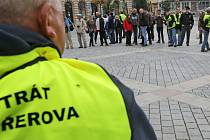 Pochod radikálů v Přerově organizátor zrušil, romové pořádali shromáždění.