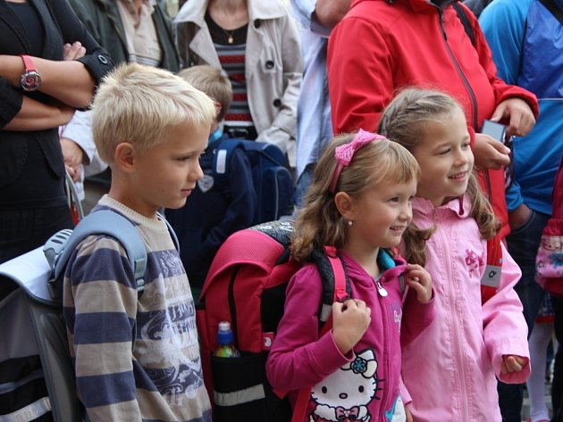 Zahájení školního roku vZŠ J. A. Komenského vPředmostí