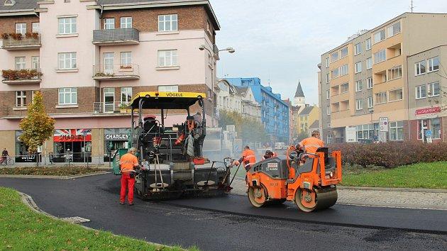 Oprava rondelů v centru Přerova