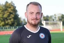 Šéftrenér mládeže 1. FCV Přerov David Chuda.