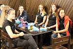 Extraligové volejbalistky Přerova oficiálně zahájily sezonu v prostorách pivovaru Zubr.