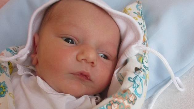 Antonín Nevrlý, Hranice, narozený dne 2. prosince ve Valašském Meziříčí, míra: 51 cm, váha: 3150 g