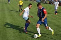 Blansko (v modrém) proti Přerovu