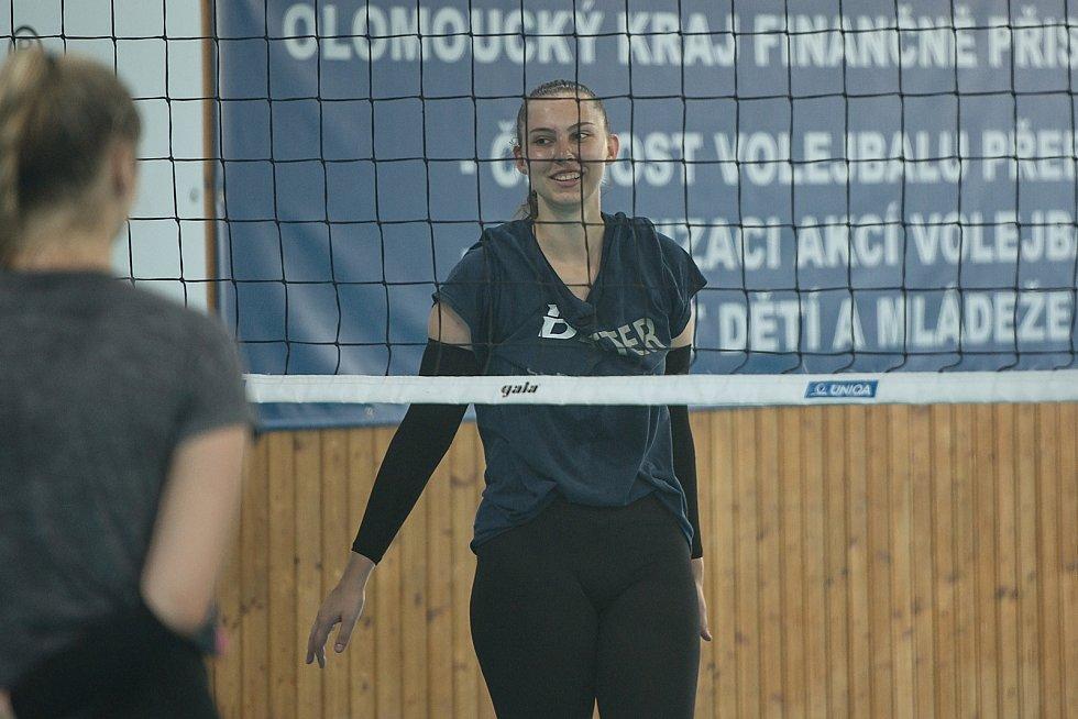 Volejbalistky Přerova se připravují na novou sezonu. Veronika Boudová