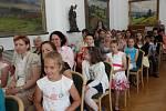 Předávání sošek Scholar v Přerově