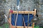 Během Author Šela Marathonu mohli návštěvnicí hradu Helfštýn zavítat v pátek 4. a sobotu 5. května na třetí hradní nádvoří, na kterém se odehrával bohatý doprovodný program.