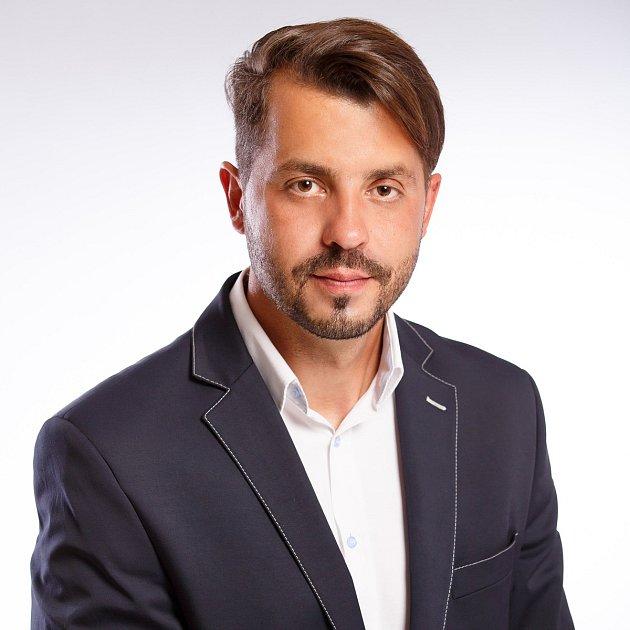 Lídr ODS vPřerově Michal Zácha