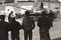 Srpen 1968 v ulicích Přerova