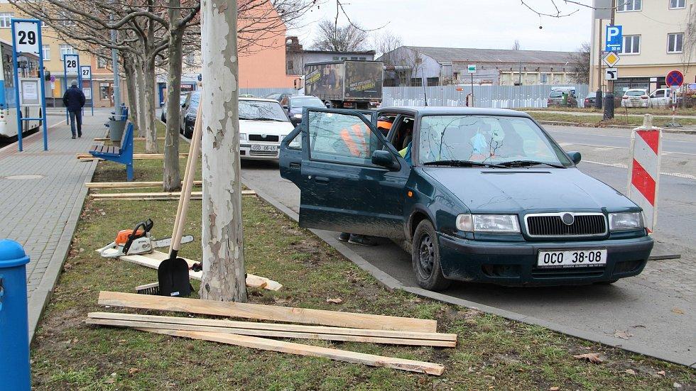 Začátek stavby průpichu v Přerově - 1. března 2021