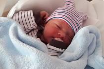 Jan Flora, narozen 25. února 2020 v Přerově, míra 52cm, váha 3750 g