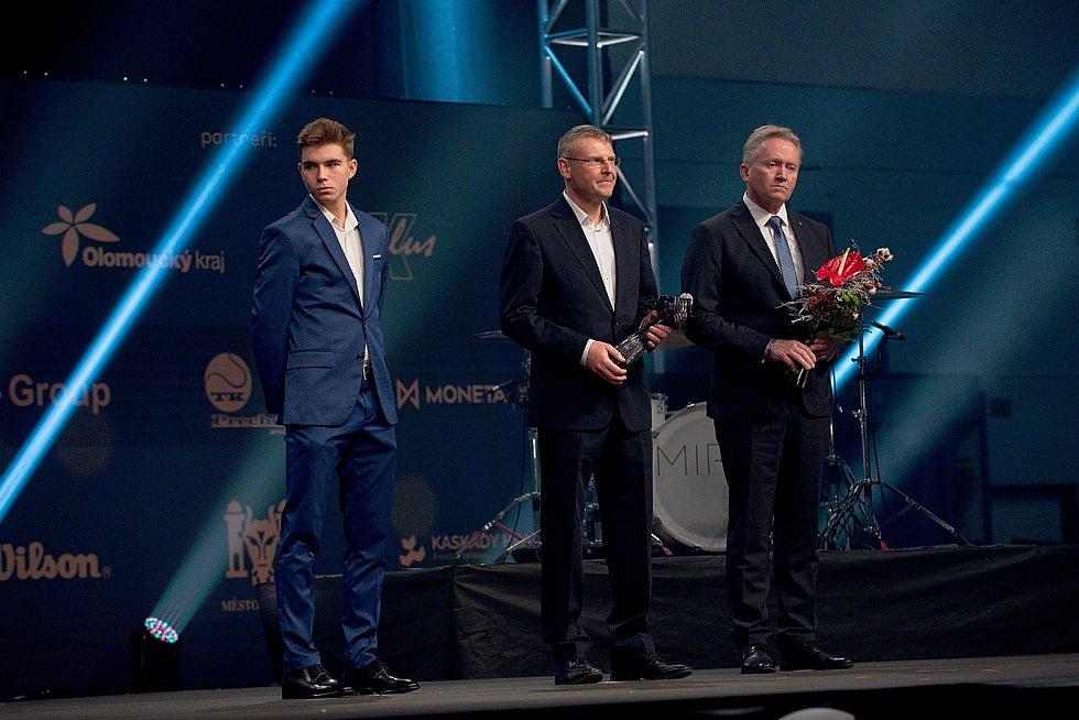 Dalibor Svrčina. Galavečer k anketě Zlatý kanár 2018 v hale TJ Spartak Přerov.