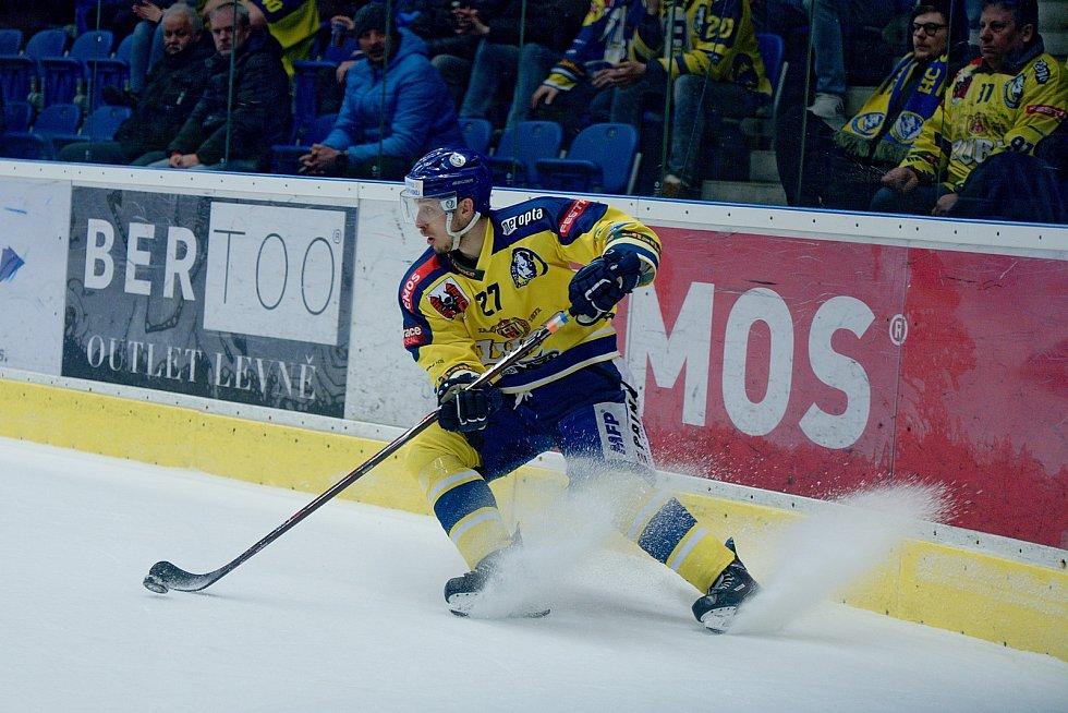 Hokejisté Přerova podlehli v prodloužení pražské Slavii 2:3. Darek Hejcman