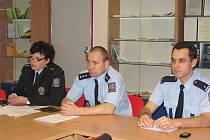 Setkání policistů s domovními důvěrníky v Předmostí