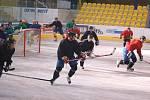 První trénink Zubrů na ledě