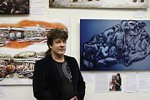 Tvorba Libora Baláka je součástí přerovské výstavy