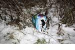 Oblečení, které bylo nalezeno nedaleko místa loupeže v igelitové tašce. K loupežnému přepadení došlo v noci z úterý na středu v Hustopečích nad Bečvou.
