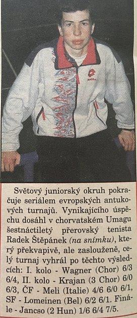 Radek Štěpánek všestnácti letech byl obrovským talentem.