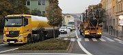 V Přerově v pondělí ráno kvůli uzavírkám zkolabovala doprava.