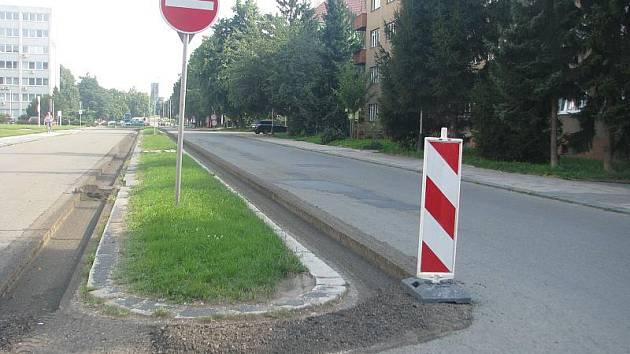 Uzavírkou dvou ulic – Kabelíkovy a generála Janouška bude od pondělka pokračovat frézování v Přerově