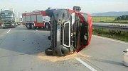 Tragická nehoda na D1 u Hranic. 26. září 2017