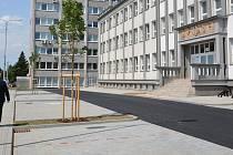 Otevření nového parkoviště u přerovské Meopty