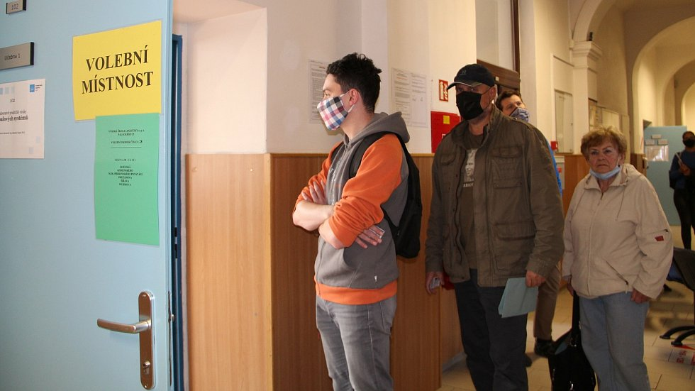 Krajské a senátní volby 2020 v Přerově, 2. října
