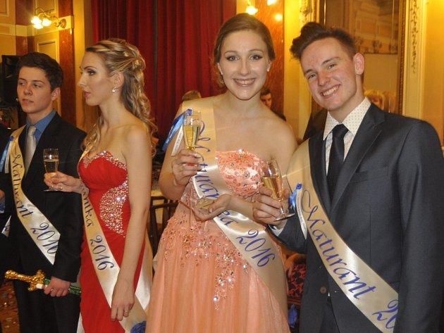 Stužkovací ples Oktávy B Gymnázia Jakuba Škody v Přerově