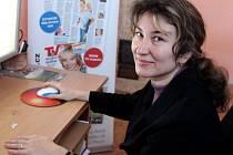 Farářka církve husitské Alena Milová při on-line rozhovoru se čtenáři Deníku