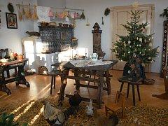 V Muzeu Komenského v Přerově začala v neděli odpoledne výstava Vánoce na zámku.