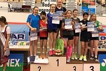 Badmintonistka SK Přerov Lucie Skařupová ovládla čtyřhru turnaje v německém Friedrichshafenu společně s klimkovickou Kateřinou Osladilovou.