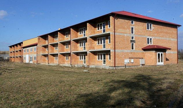 Nedostavěný dům pro seniory v obci Turovice