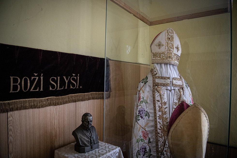 Muzeum Antonína Cyrila Stojana, 14. března 2021 v Běnově.