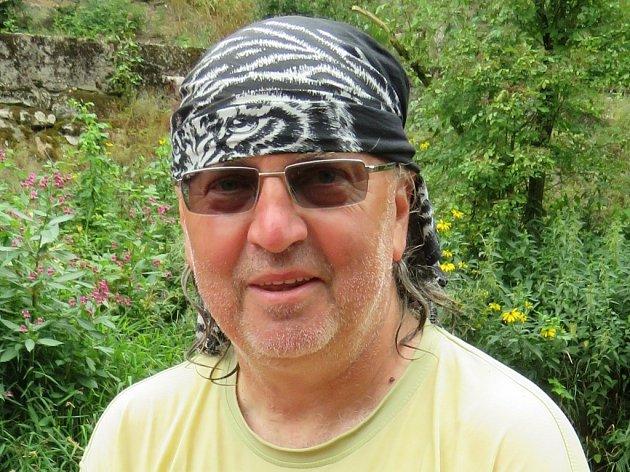Neúnavný organizátor nejen hudebních akcí Jaroslav Biolek.
