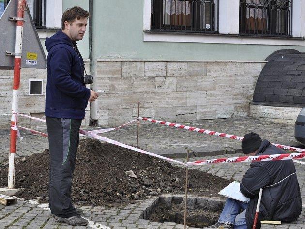 Archeologický výzkum na Horním náměstí v Přerově