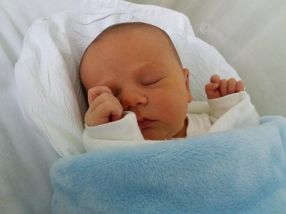 Petr Frydrych,  Lipník nad Bečvou, narozen 2. ledna 2018 v Přerově, míra 49 cm, váha 3728 g