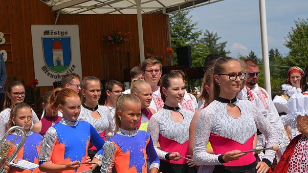 Tradiční Setkání dechových hudeb v Dřevohosticích 2019