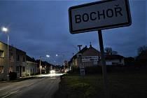 V Bochoři se dočkali nově nasvětlených přechodů pro chodce.